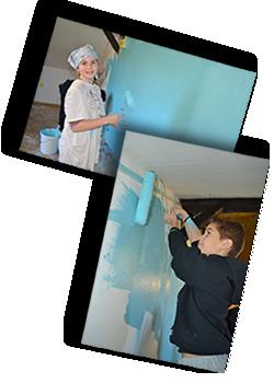 Maľovanie klubovne